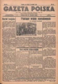 Gazeta Polska: codzienne pismo polsko-katolickie dla wszystkich stanów 1936.09.19 R.40 Nr219