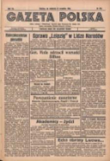 Gazeta Polska: codzienne pismo polsko-katolickie dla wszystkich stanów 1936.09.27 R.40 Nr226