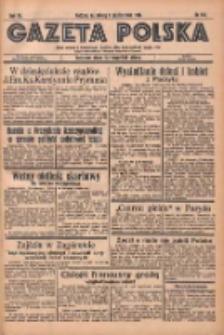 Gazeta Polska: codzienne pismo polsko-katolickie dla wszystkich stanów 1936.10.03 R.40 Nr231