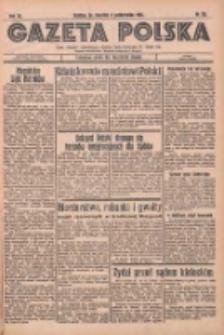 Gazeta Polska: codzienne pismo polsko-katolickie dla wszystkich stanów 1936.10.08 R.40 Nr235