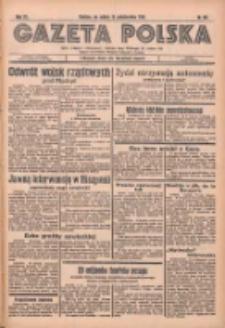 Gazeta Polska: codzienne pismo polsko-katolickie dla wszystkich stanów 1936.10.10 R.40 Nr237