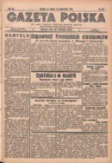 Gazeta Polska: codzienne pismo polsko-katolickie dla wszystkich stanów 1936.10.13 R.40 Nr239