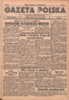 Gazeta Polska: codzienne pismo polsko-katolickie dla wszystkich stanów 1936.10.27 R.40 Nr251