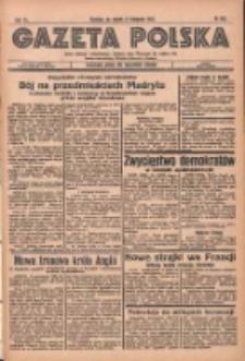 Gazeta Polska: codzienne pismo polsko-katolickie dla wszystkich stanów 1936.11.06 R.40 Nr260