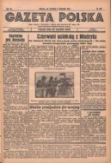 Gazeta Polska: codzienne pismo polsko-katolickie dla wszystkich stanów 1936.11.08 R.40 Nr262