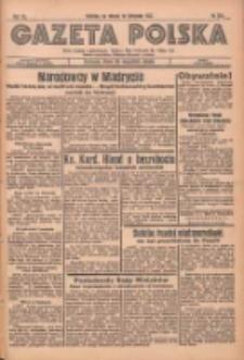 Gazeta Polska: codzienne pismo polsko-katolickie dla wszystkich stanów 1936.11.10 R.40 Nr263