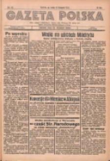 Gazeta Polska: codzienne pismo polsko-katolickie dla wszystkich stanów 1936.11.11 R.40 Nr264