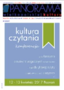 Panorama Wielkopolskiej Kultury 2017 Nr1(98)