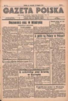 Gazeta Polska: codzienne pismo polsko-katolickie dla wszystkich stanów 1936.11.19 R.40 Nr271