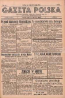 Gazeta Polska: codzienne pismo polsko-katolickie dla wszystkich stanów 1936.11.21 R.40 Nr273