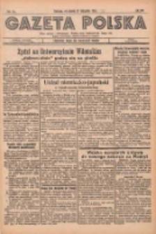 Gazeta Polska: codzienne pismo polsko-katolickie dla wszystkich stanów 1936.11.27 R.40 Nr278