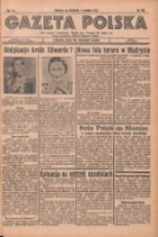 Gazeta Polska: codzienne pismo polsko-katolickie dla wszystkich stanów 1936.12.06 R.40 Nr286