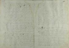 List senatora do króla Zygmunta III, ok.1589