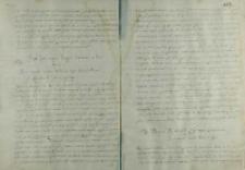 List Piotra Myszkowskiego biskupa krakowskiego do króla Zygmunta III, Kraków 1589