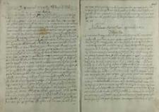 Odpowiedz króla Zygmunta III na list arcyksiężnej Marii Anny, Kraków 1592