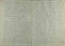List Wojciech Baranowskiego biskupa płockiego do króla Zygmunta III, Rzym 15.01.1595