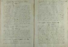 Odpowiedz króla Zygmunta III na list papieża Klemensa VIII, Warszawa 03.1598