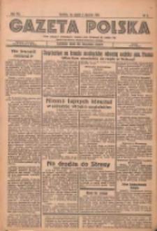Gazeta Polska: codzienne pismo polsko-katolickie dla wszystkich stanów 1937.01.08 R.41 Nr5