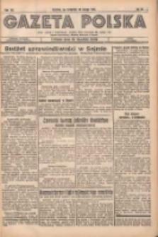 Gazeta Polska: codzienne pismo polsko-katolickie dla wszystkich stanów 1937.02.18 R.41 Nr40