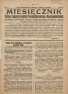 Miesięcznik Polskiego Związku Pracowników Przemysłu Cukrowniczego w Rzeczypospolitej Polskiej 1925.03.01 R.3 Nr1