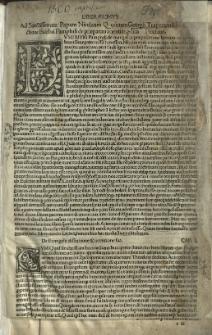 De evangelica praeparatione, Lat. Trad. Georgius Trapezuntius. Ed. Hieronymus Bononius