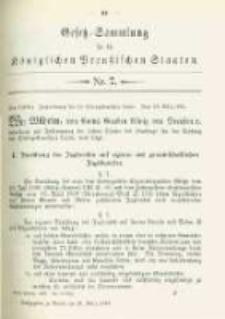 Gesetz-Sammlung für die Königlichen Preussischen Staaten. 1902.03.21 No7