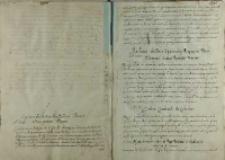 List Andrzeja Opalińskiego do papieża Klemensa VIII, Warszawa ok.1595