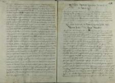 List cesarza Rudolfa II do króla Zygmunta III, Pilzno 1600