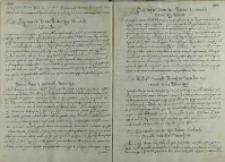 Odpowiedz króla Zygmunta III na list arcyksięcia Macieja, 1600
