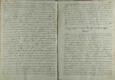 Odpowiedz senatorów polskich na list Karola Sudermańskiego, Warszawa 01.05.1599