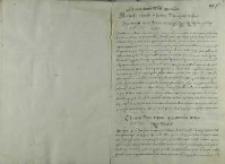 List króla Zygmunta III do papieża Klemensa VIII, Nowy Korczyn 08.11.1600