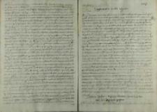 Dodatek do poselstwa Andrzeja Opalińskiego do cesarza Rudolfa II, 1600