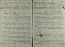 Odpowiedz cesarza Rudolfa II na list Andrzeja Opalińskiego, Praga 01.07.1601