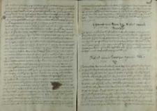 Odpowiedz króla Zygmunta III na list Michała wojewody wołoskiego, Warszawa 08.08.1600
