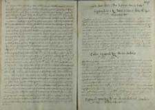 List arcyksięcia Albrechta do króla Zygmunta III, Bruksela 22.11.1600