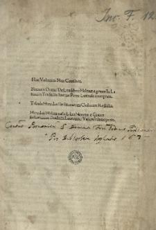 Oratio de laudibus Helenae, lat. trad. Ioannes Petri Lucennius. - Herodotus: Historiarum libri IX, lat. trad. Laurentius Valla. Ed. Antonius Mancinellus