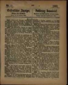 Oeffentlicher Anzeiger. 1868.10.13 Nro.41