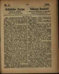 Oeffentlicher Anzeiger. 1868.11.10 Nro.45