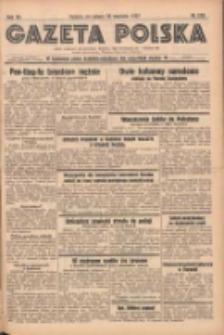 Gazeta Polska: codzienne pismo polsko-katolickie dla wszystkich stanów 1937.09.25 R.41 Nr222
