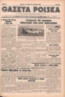 Gazeta Polska: codzienne pismo polsko-katolickie dla wszystkich stanów 1937.09.28 R.41 Nr224