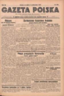 Gazeta Polska: codzienne pismo polsko-katolickie dla wszystkich stanów 1937.10.08 R.41 Nr233
