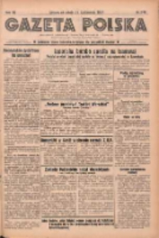 Gazeta Polska: codzienne pismo polsko-katolickie dla wszystkich stanów 1937.10.16 R.41 Nr240
