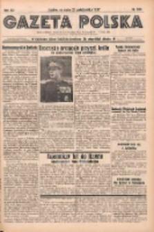 Gazeta Polska: codzienne pismo polsko-katolickie dla wszystkich stanów 1937.10.27 R.41 Nr249