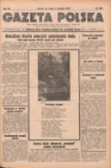 Gazeta Polska: codzienne pismo polsko-katolickie dla wszystkich stanów 1937.11.03 R.41 Nr254