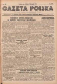 Gazeta Polska: codzienne pismo polsko-katolickie dla wszystkich stanów 1937.11.07 R.41 Nr258