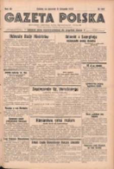 Gazeta Polska: codzienne pismo polsko-katolickie dla wszystkich stanów 1937.11.11 R.41 Nr261