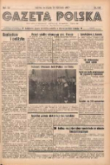 Gazeta Polska: codzienne pismo polsko-katolickie dla wszystkich stanów 1937.11.19 R.41 Nr267