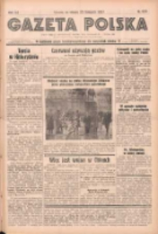 Gazeta Polska: codzienne pismo polsko-katolickie dla wszystkich stanów 1937.11.23 R.41 Nr270