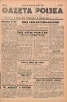 Gazeta Polska: codzienne pismo polsko-katolickie dla wszystkich stanów 1937.12.16 R.41 Nr289