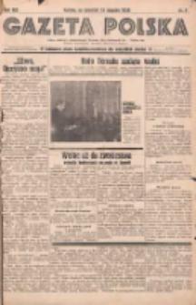 Gazeta Polska: codzienne pismo polsko-katolickie dla wszystkich stanów 1938.01.13 R.42 Nr9